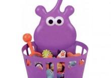 Wiszący kosz na kąpielowe zabawki Hipcio 168 Sassy