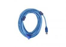 Przewód USB 2.0 Az-Am przedłużacz 10m ekran+filtr