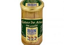 Filety z tuńczyka w oliwie z oliwek,250g