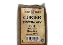 Cukier trzcinowy brązowy Rapadura 400g