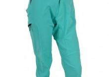 Damskie 3/4 MTB rowerowe spodnie Silvini WP380 bluegreen