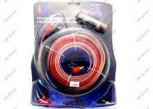 Zestaw kabli połączeniowych car-audio Peiying ZLA 0411