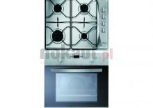 Kuchnia z płytą gaz. WHIRLPOOL AKP 241 /IX/05+AKM 268 IX