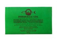 Portugalskie filety z makreli w oliwie z oliwek 125g