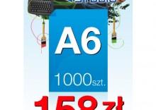 Ulotki A6 - 1000 sztuk