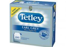TETLEY Earl Grey Herbata /100 torebek/200g