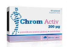 Chrom Activ 200mcg tabl. - 60 tabl