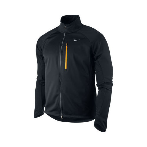 Kurtka do biegania - Nike Soft Shell Jacket, kolor: czarny
