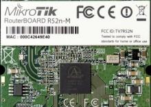 Karta miniPCI MikroTik R52NM