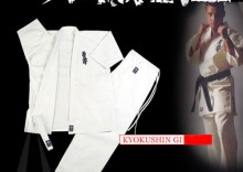 Kimono Kyokushin Karategi Białe 12oz