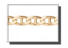 XAA0151 | Złoty łańcuszek 50cm z żółtego złota 333