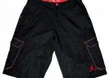 Spodenki dla koszykarza Nike Air Jordan black