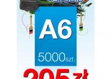 Ulotki A6 - 5000 sztuk