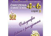 JĘZYK POLSKI ZBIÓR DYKTAND 4-6 W SZKOLE I W DOMU