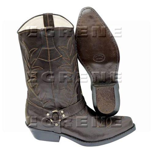 Buty kowbojki brązowe roz. 42