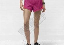 Krótkie spodenki na lato - Nike New Tempo Short, kolor: różowy/pomarańczowy