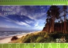 Polskie pejzaże. Kalendarz ścienny, wieloplanszowy 2013