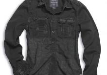 Koszula RAW Vintage - czarna