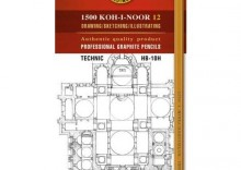 OŁÓWEK GRAFITOWY TECHNIC HB-10H KPL. 12 SZT