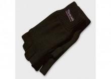 Rękawiczki thinsulate - bez palców - akryl - czarne
