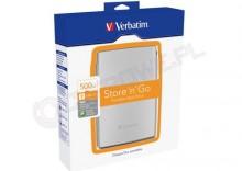 Verbatim Store n Go USB 2.0 Portable Hard Drive 500GB
