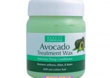 BEAUTY FORMULAS WAX Awokado - głęboko odżywiający wosk do włosów - 500 ml