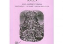 Tablica albo konterfet cebesa tebańskiego filozofa ucznia Sokratesa [opr. broszurowa]