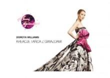 Kreacje tańca z gwiazdami - Dorota Williams
