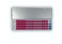 Zestaw ołówków Metal Box 6 szt
