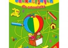 Blok zabaw edukacyjnych dla czterolatka [opr. miękka]
