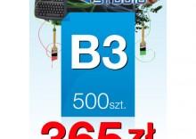 Plakaty B3 - 500 sztuk