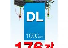 Ulotki DL 99/210 - 1000 sztuk
