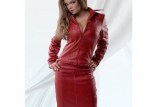 Victoria spódnica czerwona