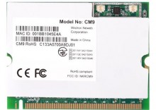 Karta sieciowa bez. Mini-PCI MikroTik CM9 Wi-FI