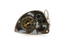 Kompaktowy kompas, mapa na breloku