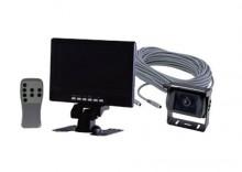 Zestaw samochodowy - kamera cofania 15-CW25H , monitor 15-MC07 , przewód 20 m, 15-K025CWHM7