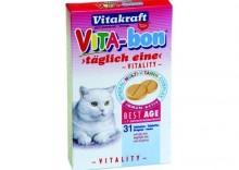 Vitakraft Vita-bon Best Age Cats tabletki dla kotów seniorów