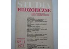 STUDIA FILOZOFICZNE