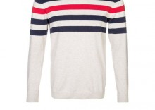 Jack & Jones NEVADA Sweter beżowy