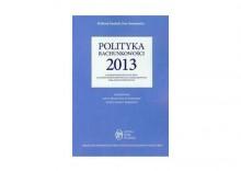 Polityka rachunkowości 2013 z komentarzem do planu kont dla jednostek budżetowych i samorządowych zakładów budżetowych