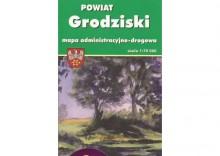 POWIAT GRODZISKI - MAPA TURYSTYCZNA [opr. miękka]