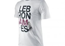 Koszulka koszykarska Nike Lebron James Tee - white