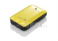 Power Bank COLOROVO 6800 mAh PowerBox (bateria/akumulator) 3 wtyki | Żółty