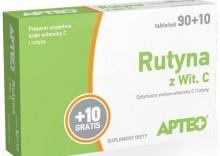 APTEO RUTYNA Z WIT. C 100 tabletek