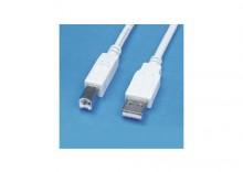 KABEL USB A-B 1.8m. SEVEN