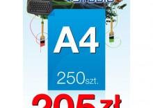 Ulotki A4 - 250 sztuk