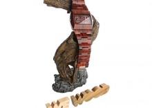 Zegarek We Wood Jupiter Brown
