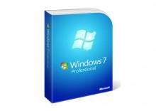 MS Windows 7 Pro Polish DVD