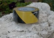 Taśma samoprzylepna żółto-czarna - 33/50 m
