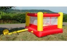 Dmuchańce, dmuchany ring bokserski, trampolina